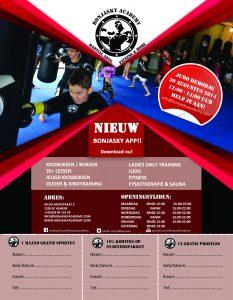Bonjasky_Academy-Judo-Ouder_en_kind_kickboksen-Flyer_achter