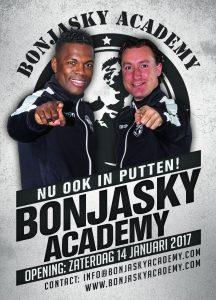 Bonjasky Academy Franchise Flyer A7 -Remy en Dave